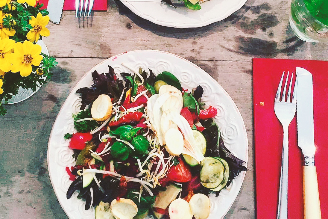 salat vegan